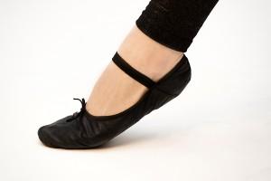 Ballettschuhe schwarz - Polepower