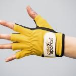 Handschuhe Leder, mittlerer Halt - Polepower